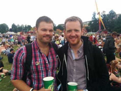 Claus and Shane Brighton Pride