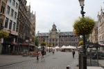 Grote Markt, with City Hall in Distance